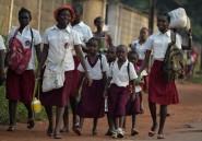 Des milliers d'élèves centrafricains exigent la reprise des cours
