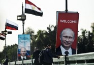 Poutine en Egypte pour tenter d'y accroître l'influence de la Russie