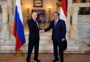 Egypte: accord pour une centrale nucléaire lors de la visite de Poutine