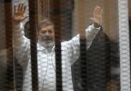 Egypte: l'ex-président Mohamed Morsi condamné