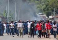 Burundi: nouvelles manifestations, dispersées par la police