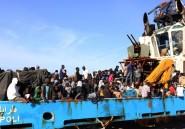 Libye: mobilisation européenne contre les passeurs de migrants