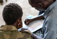 Centrafrique: plus de 350 enfants-soldats libérés par des groupes armés