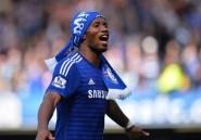 Angleterre: Drogba quitte Chelsea mais ne prend pas sa retraite