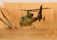 """Mali: les hélicoptères français de l'opération """"Barkhane"""", les pales du désert"""