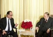 "Hollande souligne la ""grande maîtrise intellectuelle"" de Bouteflika"