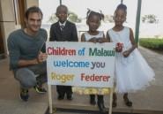 Roger Federer inaugure une école maternelle au Malawi