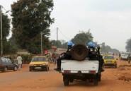 Centrafrique: accrochage dans l'ouest, deux casques bleus grièvement blessés