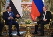 Le président égyptien invité en Russie pour la 3e fois en un an