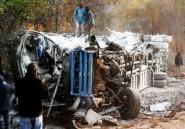 Zambie: 17 morts dans une collision entre un minibus et un camion