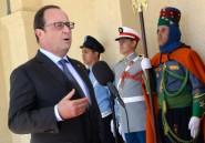 """Visite d'""""amitié"""" de François Hollande au Maroc après une """"période difficile"""""""