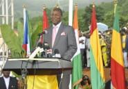 Guinée: le président Condé inaugure le barrage hydro-électrique de Kaleta