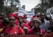 Afrique du Sud: des milliers de manifestants contre la corruption