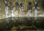 Pyramides: la découverte d'une chambre funéraire annoncée comme «la découverte du siècle»