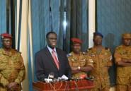 Burkina: avec le président Kafando dans la caserne des putschistes
