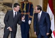 Valls en Egypte: vente de deux Mistral, soutien au président al-Sissi
