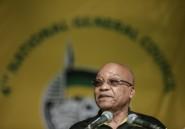 Afrique du Sud: des femmes manifestent en soutien au président Zuma représenté en violeur dans un tableau