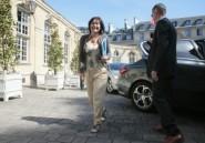 Une ministre française en visite