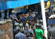 Guinée: des blessés lors d'une mutinerie