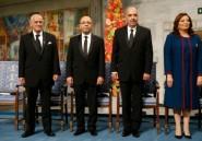 """Nobel: la lutte contre le terrorisme, """"une priorité absolue"""" selon les lauréats tunisiens"""