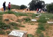 En Libye, des tombes sans nom dans le cimetière des migrants noyés
