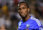 Foot: Didier Drogba n'a pas encore pris sa retraite