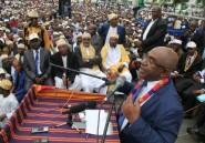 Comores: lancement de la campagne présidentielle, l'ex-président Assoumani en meeting
