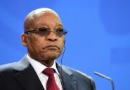 Le président Zuma s'adresse