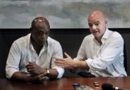Présidence Fifa: Infantino espère obtenir le soutien d'une majorité de pays africains
