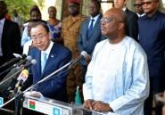 Burkina: Ban appelle
