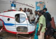 Au Malawi, le rêve fou de Felix, constructeur d'un hélico maison