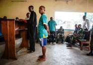 Viols en Centrafrique : trois casques bleus comparaissent en RDC