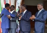 """Côte d'Ivoire: Ouattara """"réconcilie"""" le président élu du Bénin et son prédécesseur"""