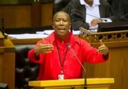 Afrique du Sud: Malema n'exclut pas d'utiliser la violence pour renverser le gouvernement