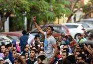 Egypte: brèves manifestations contre le pouvoir qui avait pris les devants