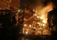 Egypte: 2 morts, 88 blessés dans un incendie au coeur du Caire