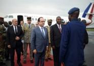 Hollande en visite express