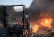 Afrique du Sud: manifestations violentes avant les municipales