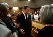 Pistorius: appel du parquet après sa peine de 6 ans de prison