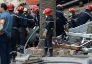 Maroc: un mort, 19 blessés dans l'effondrement d'un immeuble