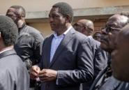 Zambie: l'opposant Hichilema crie