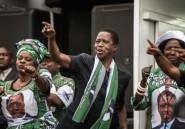 Zambie: Lungu face