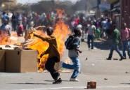 Zimbabwe: une manifestation de l'opposition brutalement réprimée