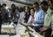 Egypte: première découverte de métal dans une barque pharaonique