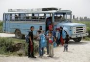 Réfugiés: plus d'un jeune sur deux est déscolarisé