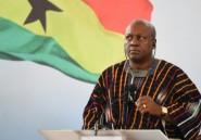 Ghana: le président Mahama promet une forte croissance et des emplois