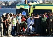Egypte: plus de 100 morts dans le naufrage du bateau de migrants