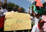 Une centaine de Biafrais manifestent au quartier Biafra d'Abidjan