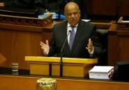 Afrique du Sud: le ministre des Finances poursuivi pour fraude