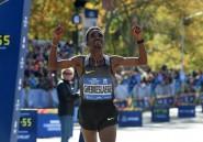 Marathon de New York: Ghebreslassie poursuit son ascension